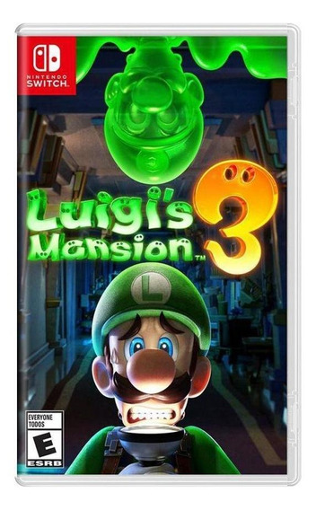 Luigis Mansion 3 Switch Mídia Física Novo Lacrado
