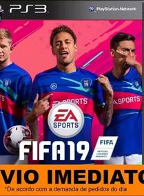 Jogo Fifa 2019 Digital Ps3 Portugues Psn Completo