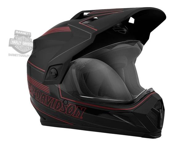 Harley Davidson Capacete B15 Velocity Flow Ventilation Origi