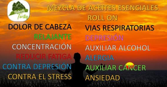 Roll On Formulación Especial Para Aromaterapia