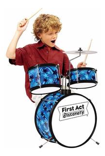 First Act Discovery Batería Infantil Niño Color Azul Envio