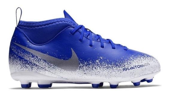 Botines Nike Phantom Vsn Club Df Fg/mg Niños Ao3288-410