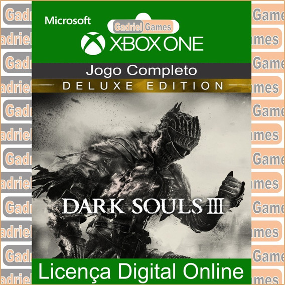Dark Souls 3 Deluxe Edition Xbox One Mídia Digital Online