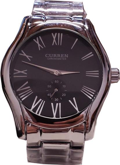 Reloj Metálico Clásico Con Pila Nueva Vintage Envío Gratis