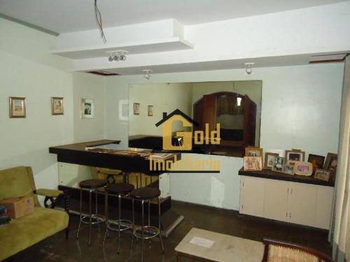 Casa Com 4 Dormitórios À Venda, 215 M² Por R$ 520.000,00 - Ribeirânia - Ribeirão Preto/sp - Ca0793