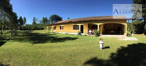 Chácara Com 3 Dormitórios À Venda, 4810 M² Por R$ 700.000,00 - Parque Das Garças - Santo André/sp - Ch0030