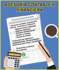 Asesoria Cotable Y Financiera