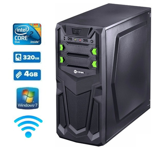 Cpu Top !!! 3.06ghz 4gb Hd 320gb Wifi Windows7