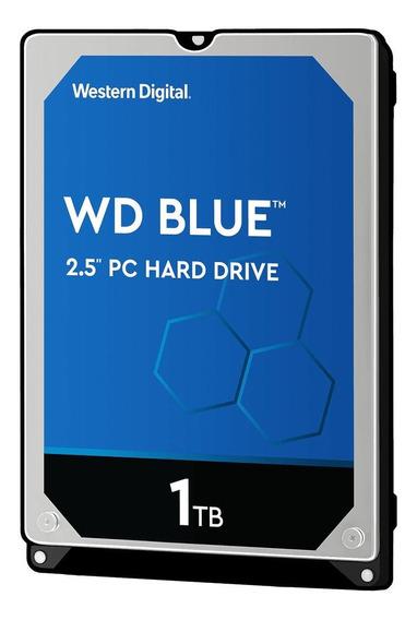 Disco rígido interno Western Digital WD10JPVX 1TB azul