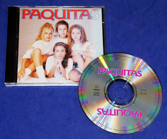 Paquitas - Cd - 1997 - Xuxa