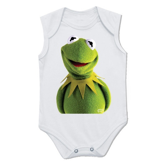 Body Infantil Caco Kermit Muptes Nqvt