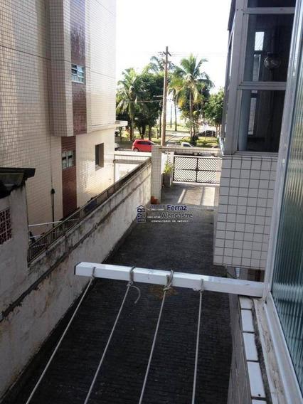 Kitnet Com 1 Dormitório Para Alugar, 30 M² Por R$ 1.100,00/mês - Itararé - São Vicente/sp - Kn0015