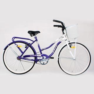 Bicicleta Liberty Primavera Canasto Rod 24 Original Cuotas
