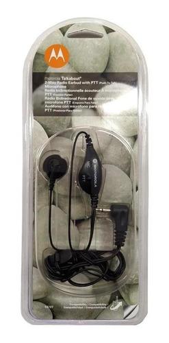 Auriculares Manos Libres Motorola T53727 Microfono Handy Ptt