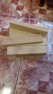 Ladrillos Refractarios Fachada Lisa 23 X 6,5 X 2,5 Cm