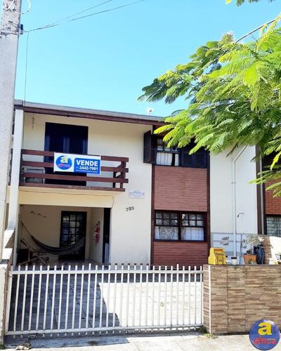 Ótimo Sobrado 3 Quartos, No Centro De Guaratuba/pr - Imobiliária África - So00150 - 67866470