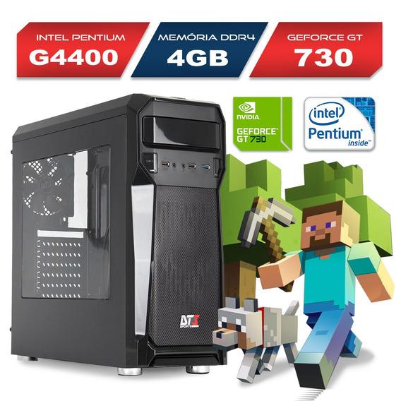 Computador Gamer Axtro Intel G4400 4gb Gt 730 500gb