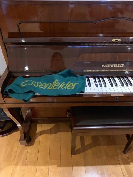 Piano Essenfelder Acústico Vert Ótimo Estado Único Dono 1983