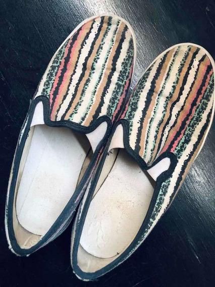 Zapatillas Panchas Levis Mujer