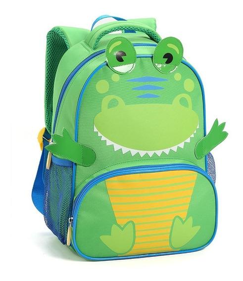Mochila Infantil Escolar Passeio M14477 Bichinhos Fofo Tam P