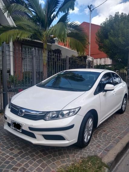 Honda Civic 1.8 Lxs Mt Asientos De Cuero 140cv 2014