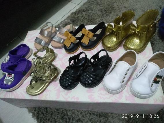 Kit 07+01 Pares De Sapatos E Sandálias Melissa Femininos