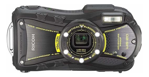 Ricoh Wg-20 14mp Waterproof Shockproof Coldproof Crushproo ®