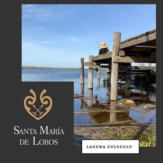Oportunidad!!! Lote Santa Maria De Lobos -laguna Natural-