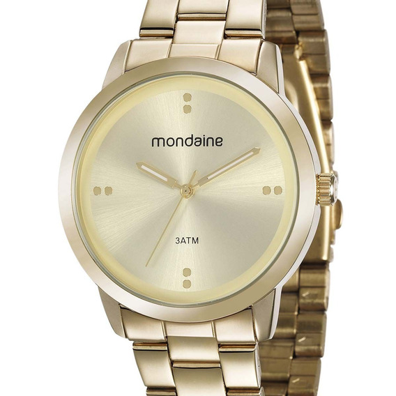 Relógio Mondaine Feminino 53720lpmgde1 Original + N. Fiscal
