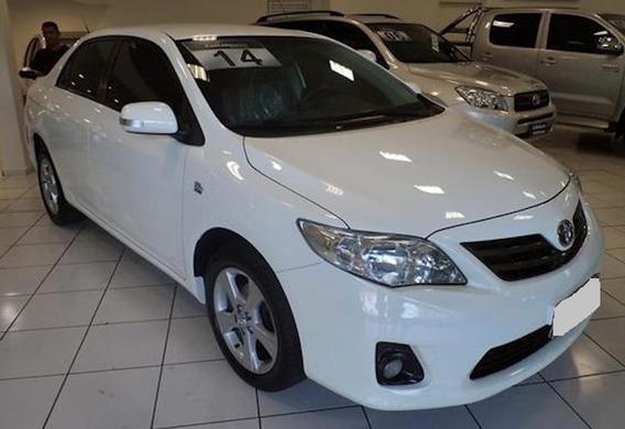 Corolla 2.0 Xei 16v Automático 2014 Flex Branco.