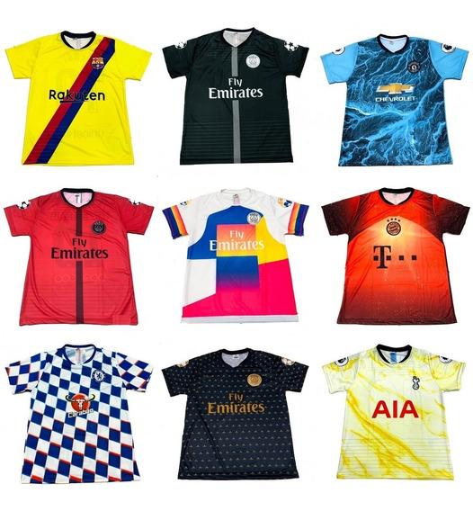 Kit 5 Camisas Futebol 150 Modelos Diferentes 2019 Atacado