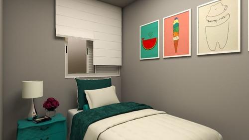 Imagem 1 de 6 de Apartamento Cobertura (novo) Com 2 Dormitórios À Venda, 90 M² - Bairro Príncipe De Gales  Santo André/sp - Co2889