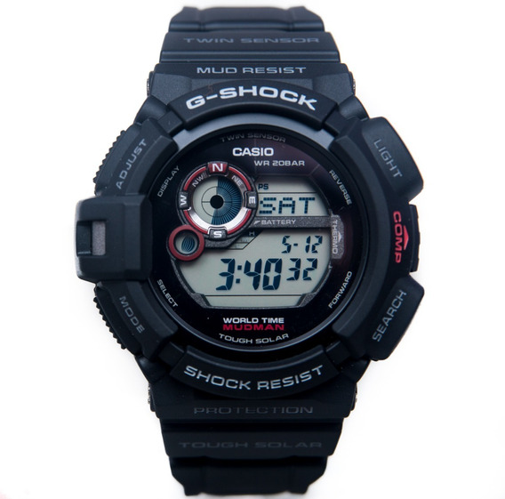 Relógio G Shock Mudman 9300 Bussola Solar G-93001d Origina
