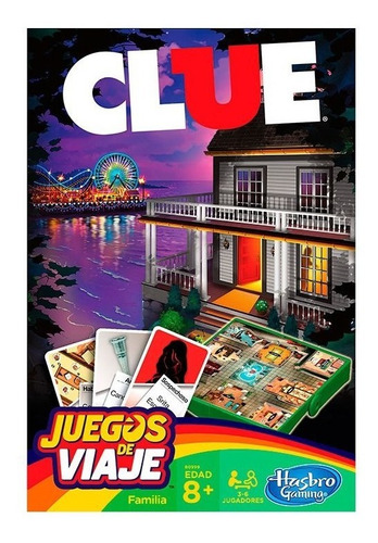 Juego De Mesa Clue Original De Hasbro