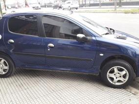 Peugeot 206 Xr 1.4 2004 Azul Nafta Full Financio Permuto