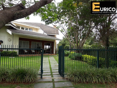 Casa Mobiliada Locação Condomínio Marambaia Em Vinhedo. - Ca01248 - 33490502