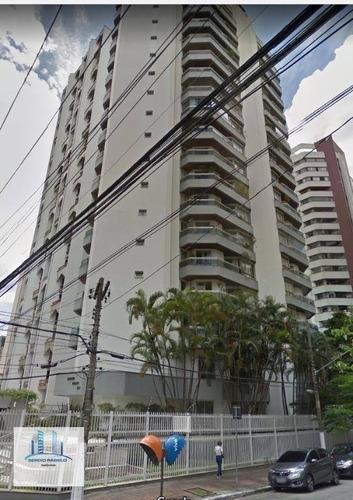 Imagem 1 de 1 de Apartamento Com 4 Dormitórios Para Alugar, 154 M² Por R$ 6.300/mês - Moema - São Paulo/sp - Ap3872