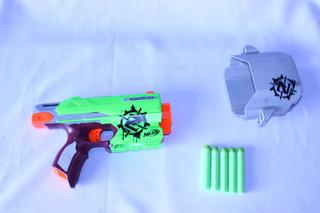 Pistola Nerf Zombiestrike