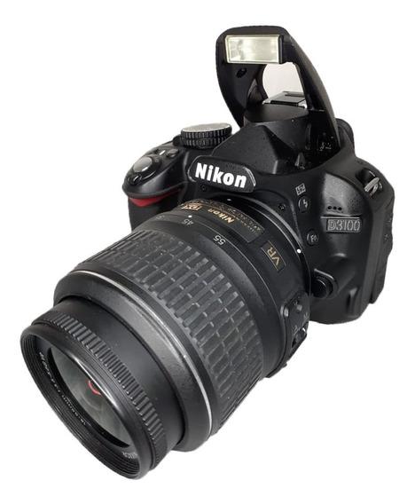 Câmera Nikon D3200 Seminova Perfeita + Lente 18-55 Mm