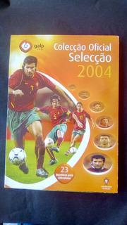 Álbum Figurinhas (tazos) Portugal Euro 2004 Completo