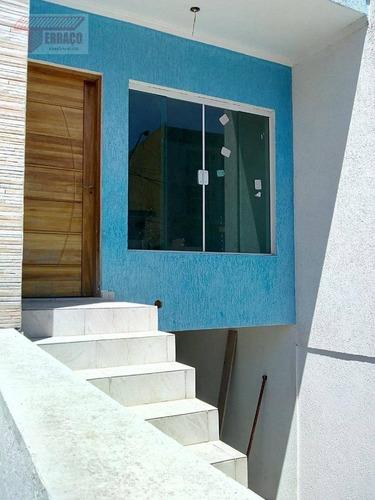 Sobrado Com 3 Dormitórios À Venda, 150 M² Por R$ 550.000,00 - Vila Pires - Santo André/sp - So0878