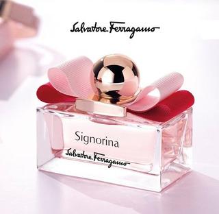 Perfume Salvatore Ferragamo Signorina 100 Ml Original Import