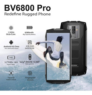 Blackview Bv6800 Pro Ip68/69k 4gb 64gb Wireless Charge