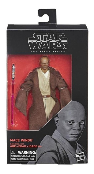 Star Wars E4088 Figura Star Wars Black Series Mace Windu Jug