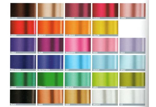 Cinta Colores Chrome Para Lazos Para Regalos 3 Centimetros