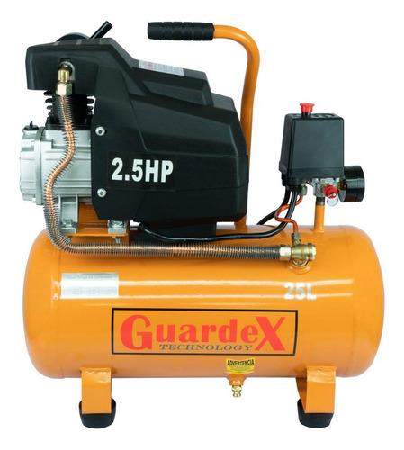 Compresor de aire eléctrico portátil Guardex DDAIR-25 110V