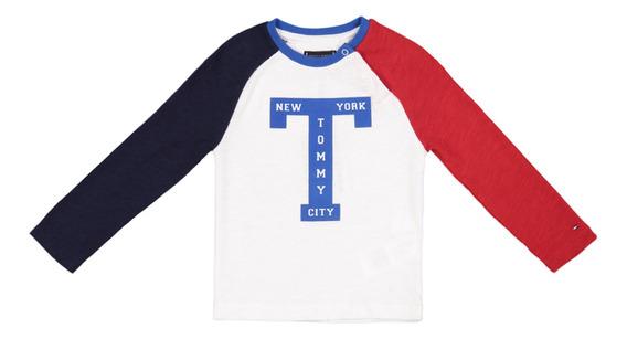 T-shirt - Tommy Hilfiger - Kb0kb04270t-123 - Blanco Niño