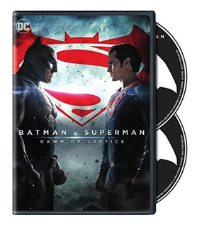 Dvd : - Batman V Superman: Dawn Of Justice (special...