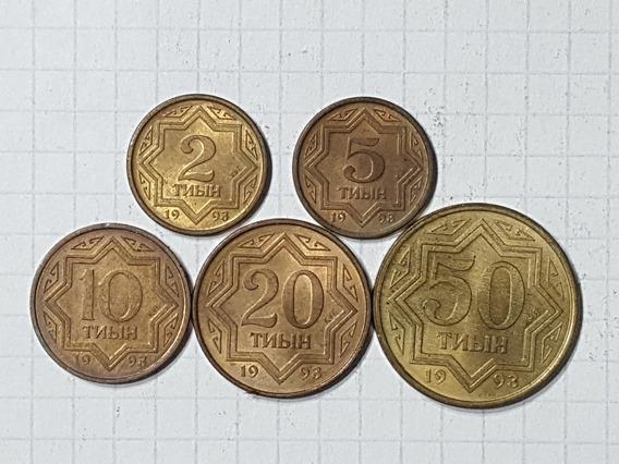Kazajistán Colección 5 Monedas Diferentes