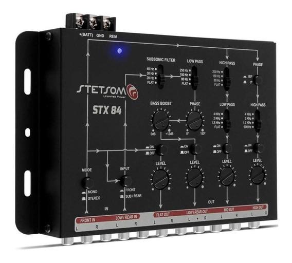 Crossover Stetsom Stx84 4 Vias Eletrônico Mono Stereo Som